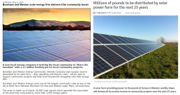 news articles posted online about burnham and weston energy cic